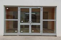 Алюминиевые двери, входные группы любой сложности