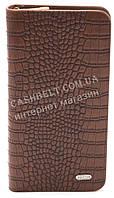 Кошелек мужской рыжего цвета под крокодила Fuerdani art. 001-1, фото 1