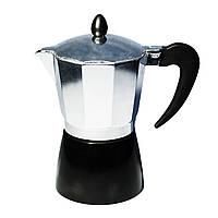 Кофеварка гейзерная Con Brio CB-6306 (300мл) (на 6 чашек)