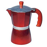 Кофеварка гейзерная Con Brio CB-6206 (300мл) (на 6 чашек)