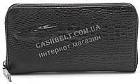 Женский кошелек барсетка черного цвета крокодил  FUERDANI art.600-1, фото 1
