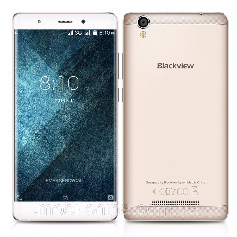 Смартфон Blackview A8 8GB Champange Gold ''''