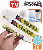 Карандаш маркер Grout-Aide Grout & Tile Marker для обновления межплиточных швов