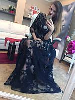 Эксклюзивное платье-двойка