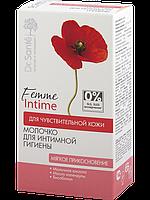 Молочко для интимной гигиены «Мягкое прикосновение» для чувствительной кожи 230мл Dr.Sante Femme Intime