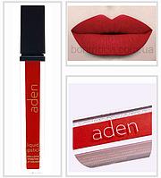 "Помада Матовая Aden Liquid Lipstick 08 Marylin Red ""Красный Мэрилин"" № 8"