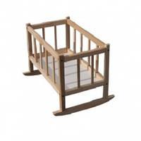 Кроватка для кукол деревянная ТМ Индиго
