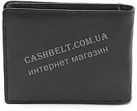 Компактный практичный кожаный мужской кошелек BENZER art.47230 черного цвета