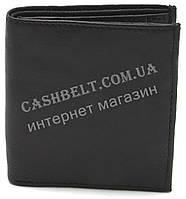 Компактный практичный кожаный мужской кошелек BENZER art.8118 черного цвета, фото 1