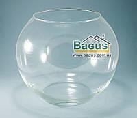 Ваза шар аквариум (высота 23см, диаметр 28см, объем 9л) (X007)