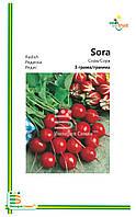 Семена Редиса Сора (мелкая фасовка) 3гр