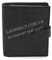 Удобный практичный кожаный мужской кошелек BENZER art.MRS282 черного цвета