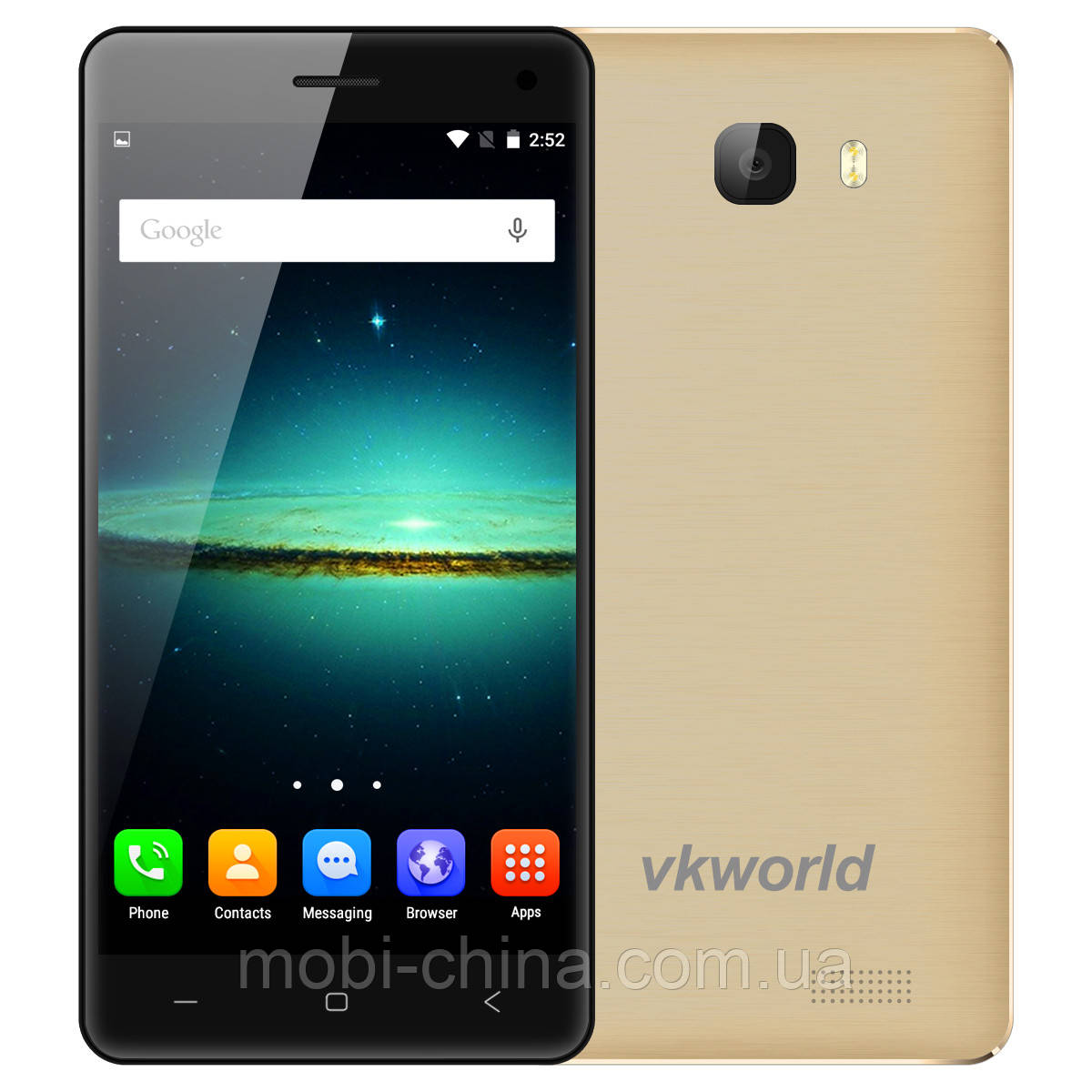 Смартфон VKworld T5 SE 8GB Gold