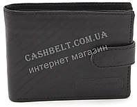 Прочный практичный кожаный мужской кошелек BENZER art.AAS3320 черного цвета , фото 1