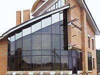 Фасады, витражи, витрины, зимние сады, стеклянные купола.  Алюминиевый профиль.