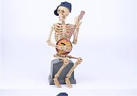 Скелет-музыкант(талантливый музыкант,виртуоз) - декор на хэллоуин