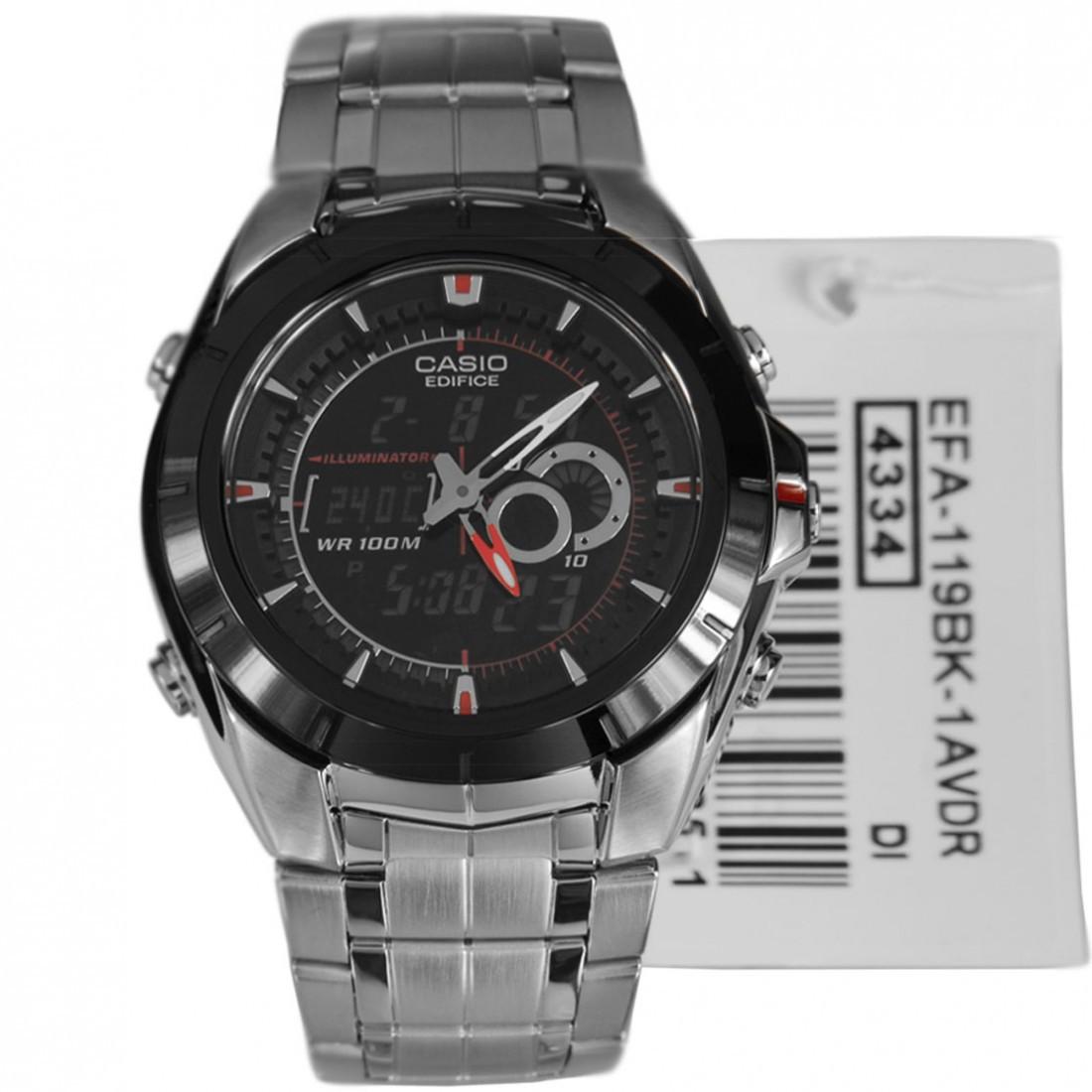 Часы Casio Edifice EFA119BK-1A