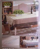 Скатерть тканевая с вышивкой в подарочной упаковке