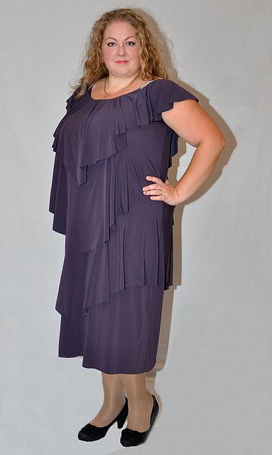 Вечерние платья больших размеров - Интернет магазин женской одежды больших  размеров Stella 48-68 в 29e288ba60b