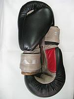 Боксерские перчатки JAB 8 унций (кожа)