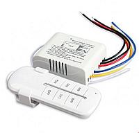 Выключатель дистанционный с пультом радоуправления 3х1000 Вт 220В