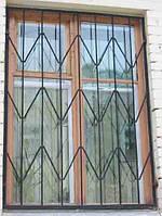 Решетки сварные на окна прямая арт.рс 4