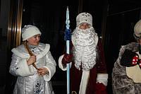 Дед Мороз и Снегурочка спешат поздравить Вас с Новым годом! (г.Николаев)