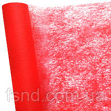 (1) Флизелин красный (50 см х 10 м)