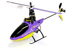 Вертолёт 4-к микро р/у 2.4GHz Xieda 9958 (фиолетовый), фото 2