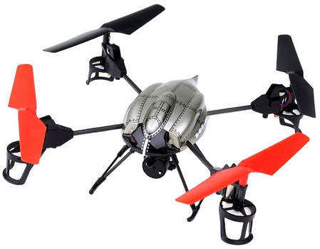 Квадрокоптер р/у 2.4Ghz WL Toys V979 Spray водяная пушка, фото 2