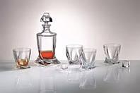 Набор для виски 7пр. Quadro Bohemia 99999/99А44/480