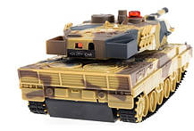 Танк р/у 1:36 HuanQi H500 Bluetooth с и/к пушкой для танкового боя, фото 2