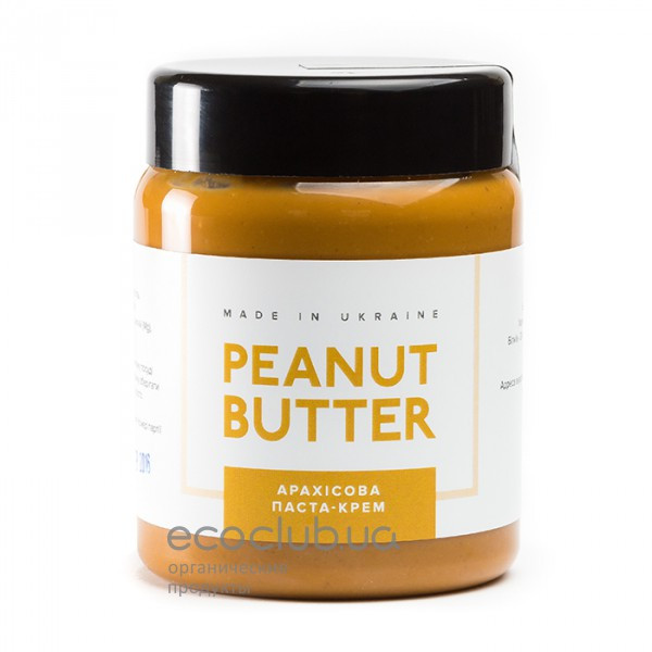 Паста арахисовая крем Peanut Butter 180г