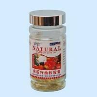 Капсулы Pumpkin Seed Oil (масло семян тыквы),100 шт, Здоровье простаты,артерий,печени