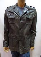 Мужская демисезонная кожаная куртка MAZE