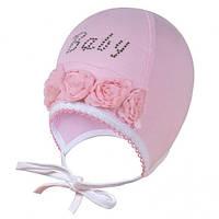 Шапочка для девочки Светик David's Star розовый, р-р 36-38