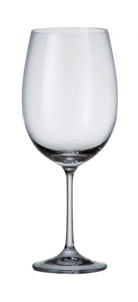 Бокалы для вина 6шт. Bohemia Barbara 1SD22/640