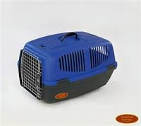 ЗК Переноска для собак, кошек и грызунов 1 IATA 48*29*28 (металлическая дверь)