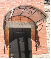 Козырек кованый арт.кз 4, фото 1
