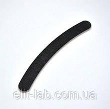 Пилка для нігтів чорна бумеранг 80x100