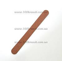 Пилка для натуральных ногтей на деревянной основе 120*180