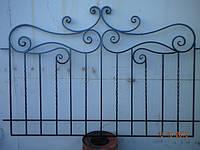 Кованный забор арт.9