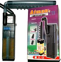 Фильтр  универсальный Atman/ ViaAqua VA-200F для аквариумов до 30 л, 150 л/ч