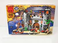 Конструктор Замок пиратов 366 деталей BRICK 310/705563
