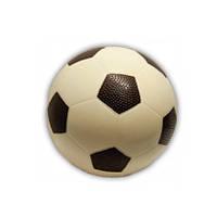 Подарок из шоколада мужчинам. Футбольный шоколадный мяч, фото 1