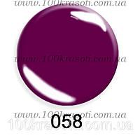 Гель-лак G.La Color, 10ml, цвет №058 (фиолетовый)