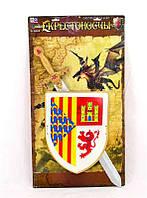 Набор рыцаря 6894 /466-877 (36/2) щит, меч, знамя, в кульке