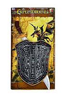 Набор рыцаря 6889 /466-875 (36/2) щит, меч, знамя, в кульке
