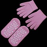Гелевые увлажняющие СПА - перчатки, фото 3