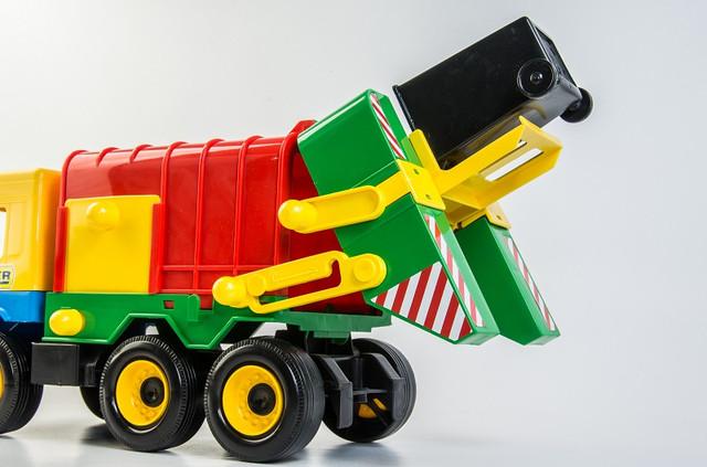 игрушечная машина мусоровоз Вадер для детей мальчиков и девочек